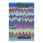 Zig zag boats Shower Curtain 48  x 72  (Small)