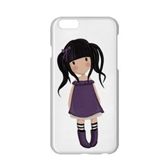 Dolly Girl In Purple Apple Iphone 6/6s Hardshell Case by Valentinaart