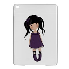 Dolly Girl In Purple Ipad Air 2 Hardshell Cases by Valentinaart
