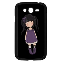 Dolly Girl In Purple Samsung Galaxy Grand Duos I9082 Case (black)