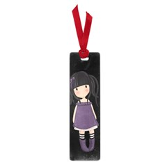Dolly Girl In Purple Small Book Marks by Valentinaart