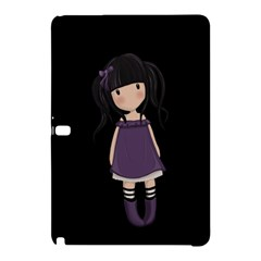Dolly Girl In Purple Samsung Galaxy Tab Pro 12 2 Hardshell Case by Valentinaart