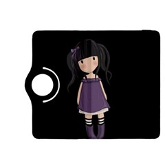 Dolly Girl In Purple Kindle Fire Hdx 8 9  Flip 360 Case by Valentinaart