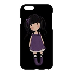 Dolly Girl In Purple Apple Iphone 6 Plus/6s Plus Hardshell Case by Valentinaart