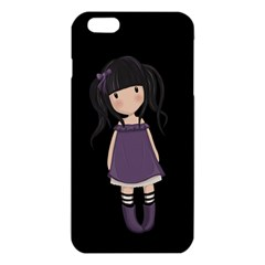 Dolly Girl In Purple Iphone 6 Plus/6s Plus Tpu Case by Valentinaart