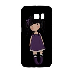 Dolly Girl In Purple Galaxy S6 Edge by Valentinaart