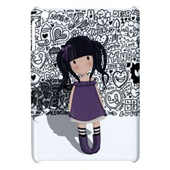 Dolly Girl In Purple Apple Ipad Mini Hardshell Case by Valentinaart