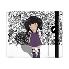 Dolly Girl In Purple Samsung Galaxy Tab Pro 8 4  Flip Case by Valentinaart
