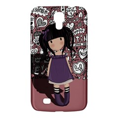 Dolly Girl In Purple Samsung Galaxy Mega 6 3  I9200 Hardshell Case by Valentinaart