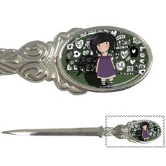 Dolly Girl In Purple Letter Openers by Valentinaart