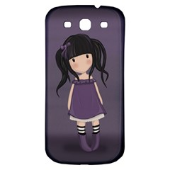 Dolly Girl In Purple Samsung Galaxy S3 S Iii Classic Hardshell Back Case by Valentinaart