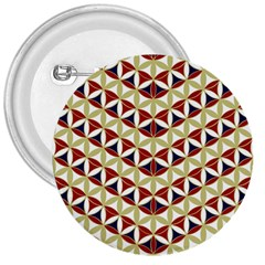 Flower Of Life Pattern 4 3  Buttons by Cveti