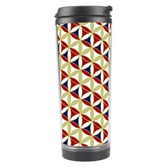 Flower Of Life Pattern 4 Travel Tumbler by Cveti