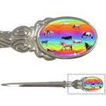 Horses in Rainbow Letter Openers