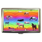 Horses in Rainbow Cigarette Money Cases