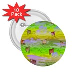 Cows and Clouds in the Green Fields 2.25  Buttons (10 pack)