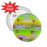 Cows and Clouds in the Green Fields 2.25  Buttons (100 pack)