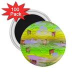 Cows and Clouds in the Green Fields 2.25  Magnets (100 pack)