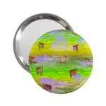 Cows and Clouds in the Green Fields 2.25  Handbag Mirrors