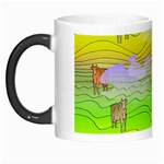 Cows and Clouds in the Green Fields Morph Mugs