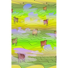 Cows And Clouds In The Green Fields 5 5  X 8 5  Notebooks by CosmicEsoteric