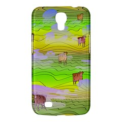 Cows And Clouds In The Green Fields Samsung Galaxy Mega 6 3  I9200 Hardshell Case by CosmicEsoteric
