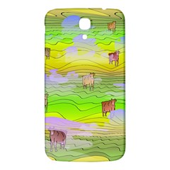 Cows And Clouds In The Green Fields Samsung Galaxy Mega I9200 Hardshell Back Case by CosmicEsoteric