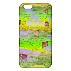 Cows And Clouds In The Green Fields Iphone 6 Plus/6s Plus Tpu Case by CosmicEsoteric