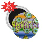 Amoeba Flowers 2.25  Magnets (100 pack)