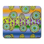 Amoeba Flowers Large Mousepads