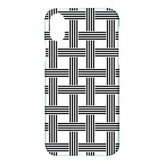 Seamless Stripe Pattern Lines Apple Iphone X Hardshell Case