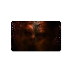 Monster Demon Devil Scary Horror Magnet (name Card) by Celenk