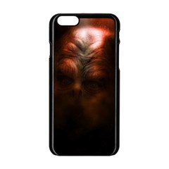Monster Demon Devil Scary Horror Apple Iphone 6/6s Black Enamel Case