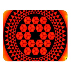 Geometry Maths Design Mathematical Double Sided Flano Blanket (large)  by Celenk