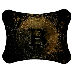Bitcoin Cryptocurrency Blockchain Jigsaw Puzzle Photo Stand (bow) by Celenk
