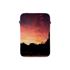 Sunset Silhouette Sun Sky Evening Apple Ipad Mini Protective Soft Cases by Celenk