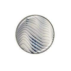 Aqua Building Wave Hat Clip Ball Marker (10 Pack) by Celenk