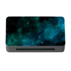 Green Space All Universe Cosmos Galaxy Memory Card Reader With Cf by Celenk