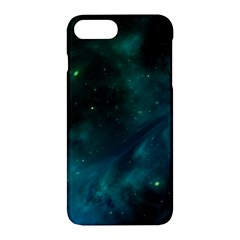 Green Space All Universe Cosmos Galaxy Apple Iphone 7 Plus Hardshell Case by Celenk