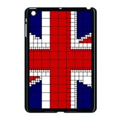 Union Jack Flag Uk Patriotic Apple Ipad Mini Case (black) by Celenk