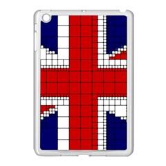 Union Jack Flag Uk Patriotic Apple Ipad Mini Case (white) by Celenk