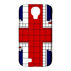Union Jack Flag Uk Patriotic Samsung Galaxy S4 Classic Hardshell Case (pc+silicone) by Celenk