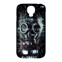 Gas Mask Contamination Contaminated Samsung Galaxy S4 Classic Hardshell Case (pc+silicone) by Celenk