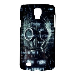 Gas Mask Contamination Contaminated Galaxy S4 Active by Celenk