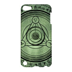 Rune Geometry Sacred Mystic Apple Ipod Touch 5 Hardshell Case by Celenk