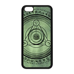 Rune Geometry Sacred Mystic Apple Iphone 5c Seamless Case (black) by Celenk