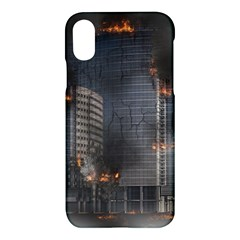 Destruction Apocalypse War Disaster Apple Iphone X Hardshell Case