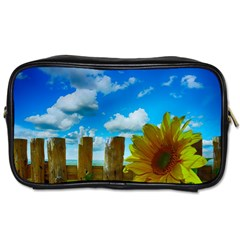 Sunflower Summer Sunny Nature Toiletries Bags by Celenk