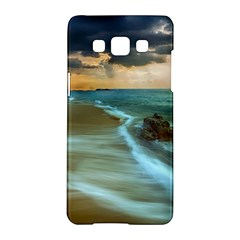 Beach Shore Sand Coast Nature Sea Samsung Galaxy A5 Hardshell Case  by Celenk