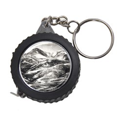 Mountains Winter Landscape Nature Measuring Tape by Celenk
